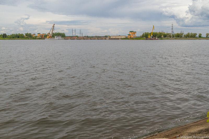 Иваньковская ГЭС, Дубна