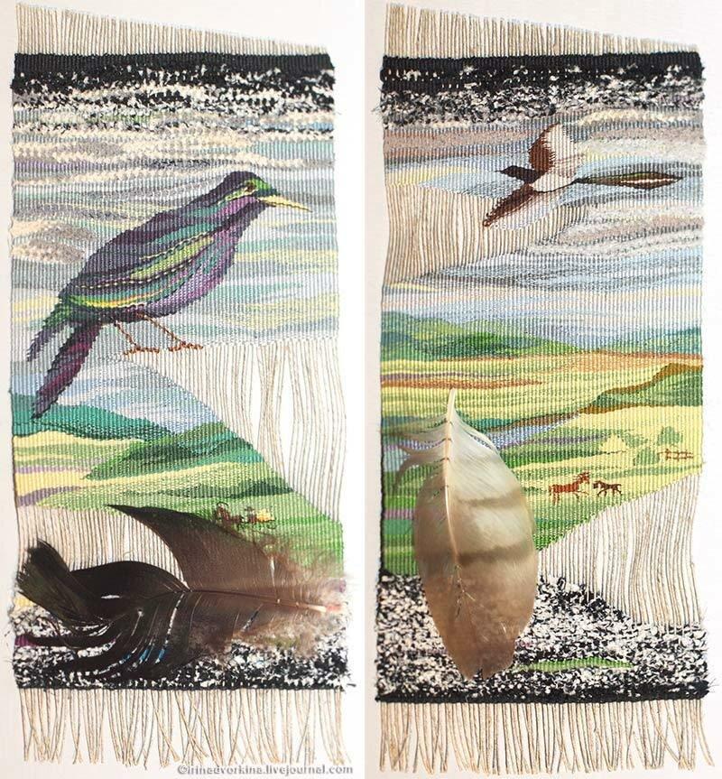 Марина Нечепорук. Мои соседи. Диптих из серии «Экология». 1991