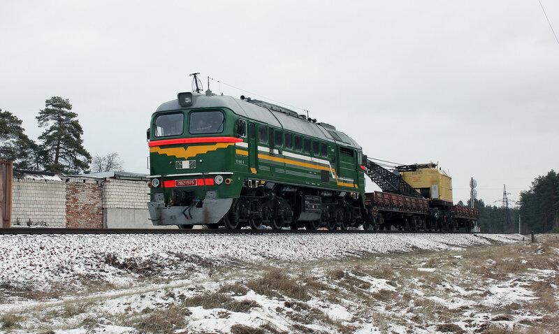 М62-1575 на станции новобелицкая