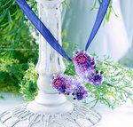 Украшения с цветами ручной работы из полимерной глины