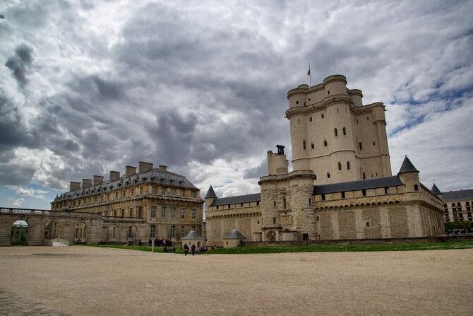 Венсенский замок. Франция