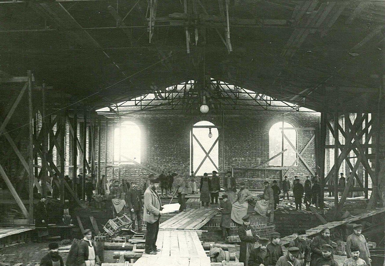 10. Строительство цеха стекольного завода