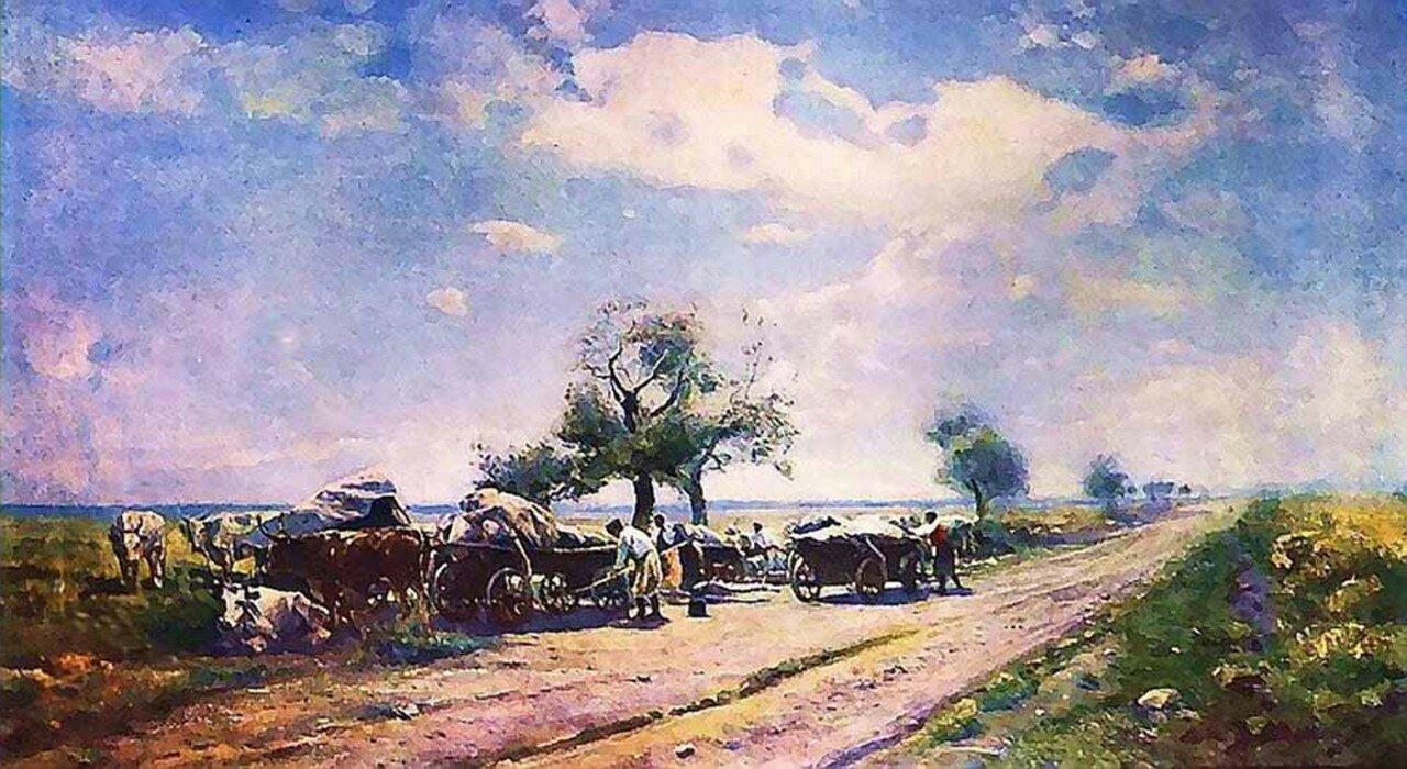 Чумацкий Ромодановский шлях 1890-е