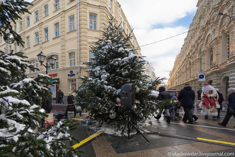 Предновогодняя Москва 2015. ГУМ.