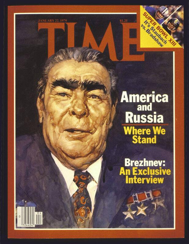 Леонид Брежнев, холодная война, политика Брежнева