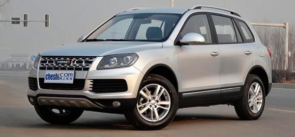 В Китае выпустили копию автомобиля Volkswagen Touareg