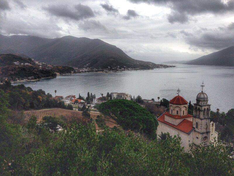 монастырь Савина в Херцег-Нови (Черногория)