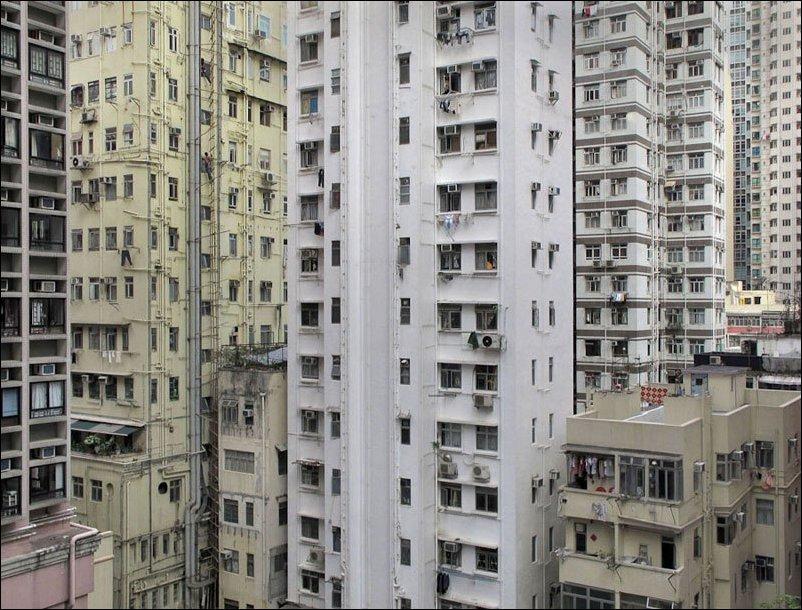 Дома Гонконга, в которых живут миллионы китайцев