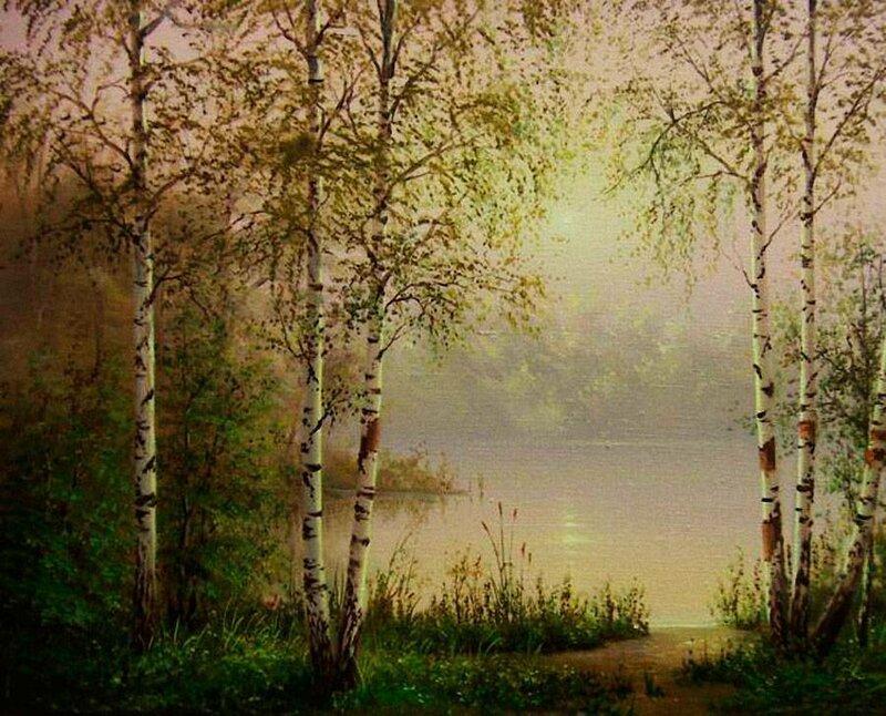 Белорусский художник Олег Чувашев. Нежные пейзажи и натюрморты 0 1110c8 b6b122aa XL