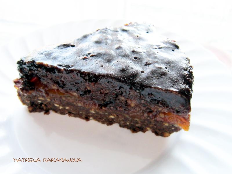 Торт без выпечки №2, шоколадный