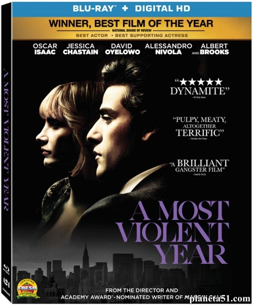Самый жестокий год / A Most Violent Year (2014/HDRip)