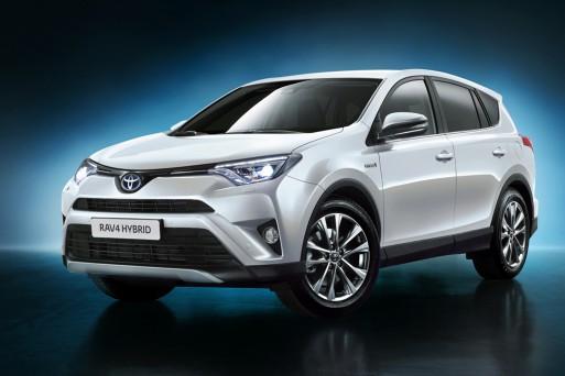Тойота представила гибридный кроссовер RAV4 Hybrid для рынка стран Европы