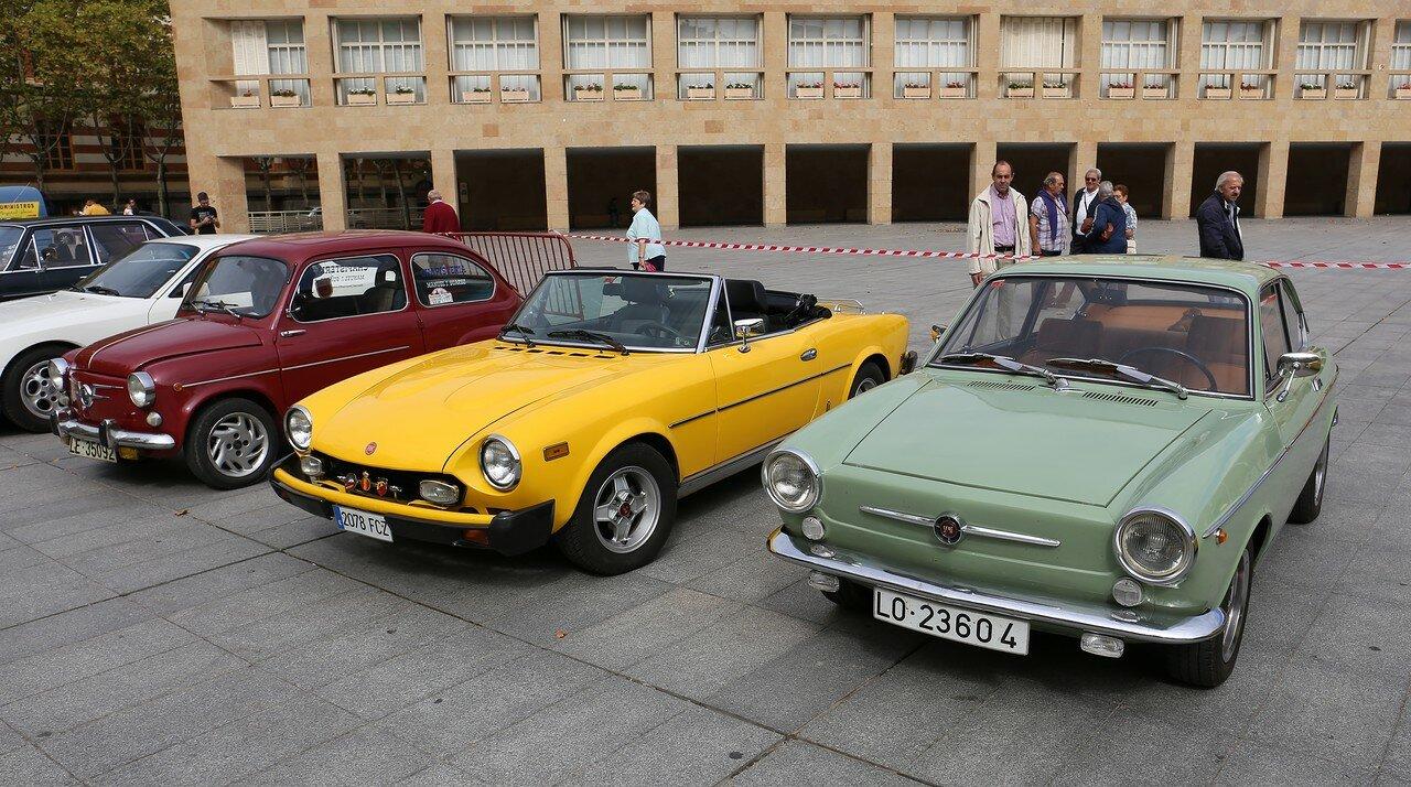 Парад ретроавтомобилей в Логроньо. SEAT 850