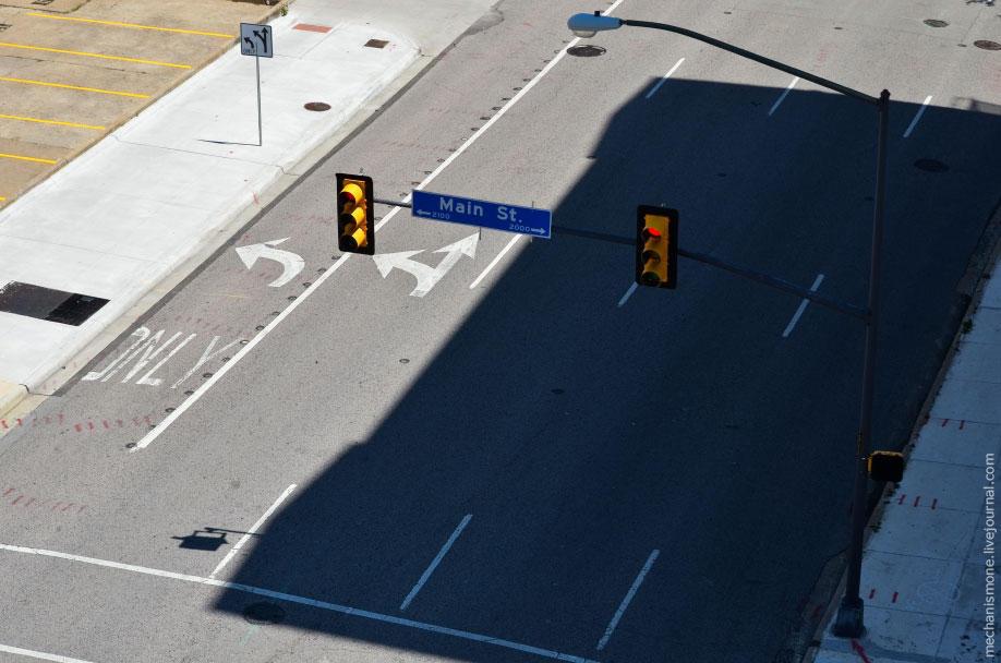 30. Помимо дорог так же стоит отметить небольшие детали дорожной системы в городах. На всех перекрес