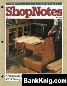 Журнал ShopNotes №09 (1993) pdf 21,5Мб
