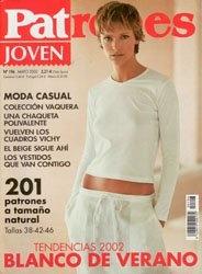 Журнал Patrones №196 2002 Joven