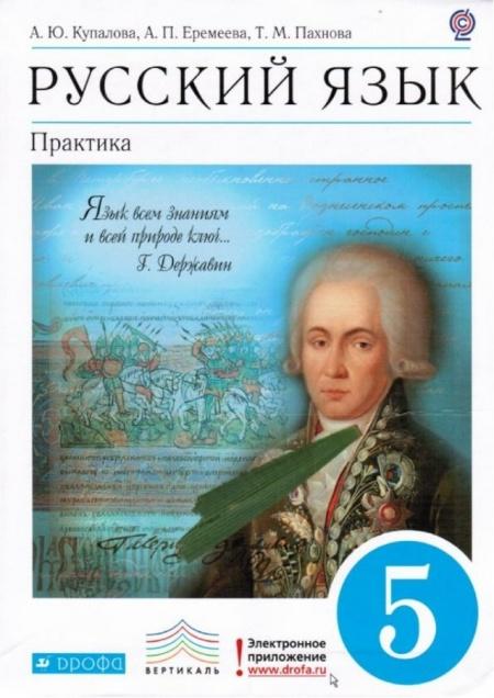 Книга Русский язык. Практика. 5 класс