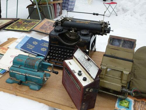 Арифмометр и пишущая машинка