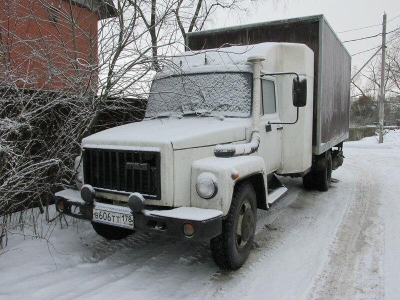 Мой Газ 3309