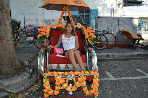 Рикша, Пенанг