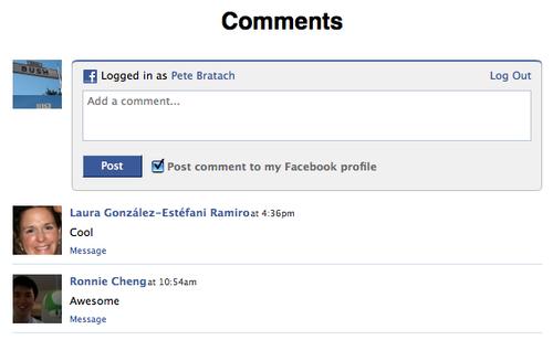 комментарии Фейсбук