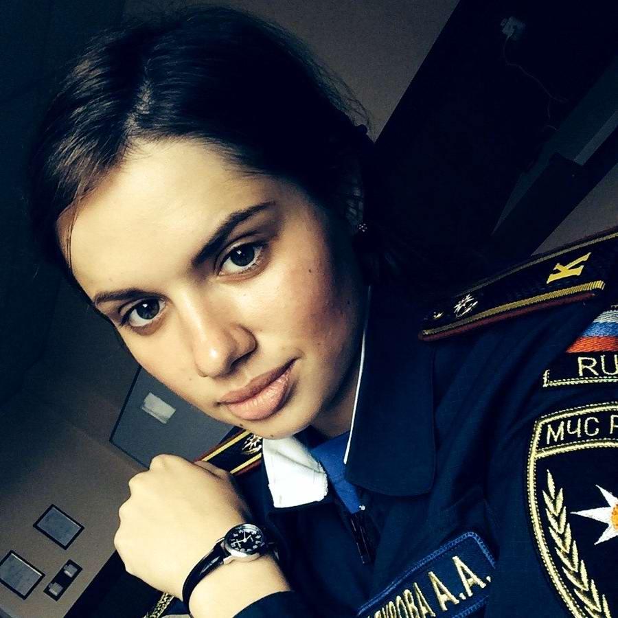 Любую беду руками разведу: Лица девушек из МЧС России (43)