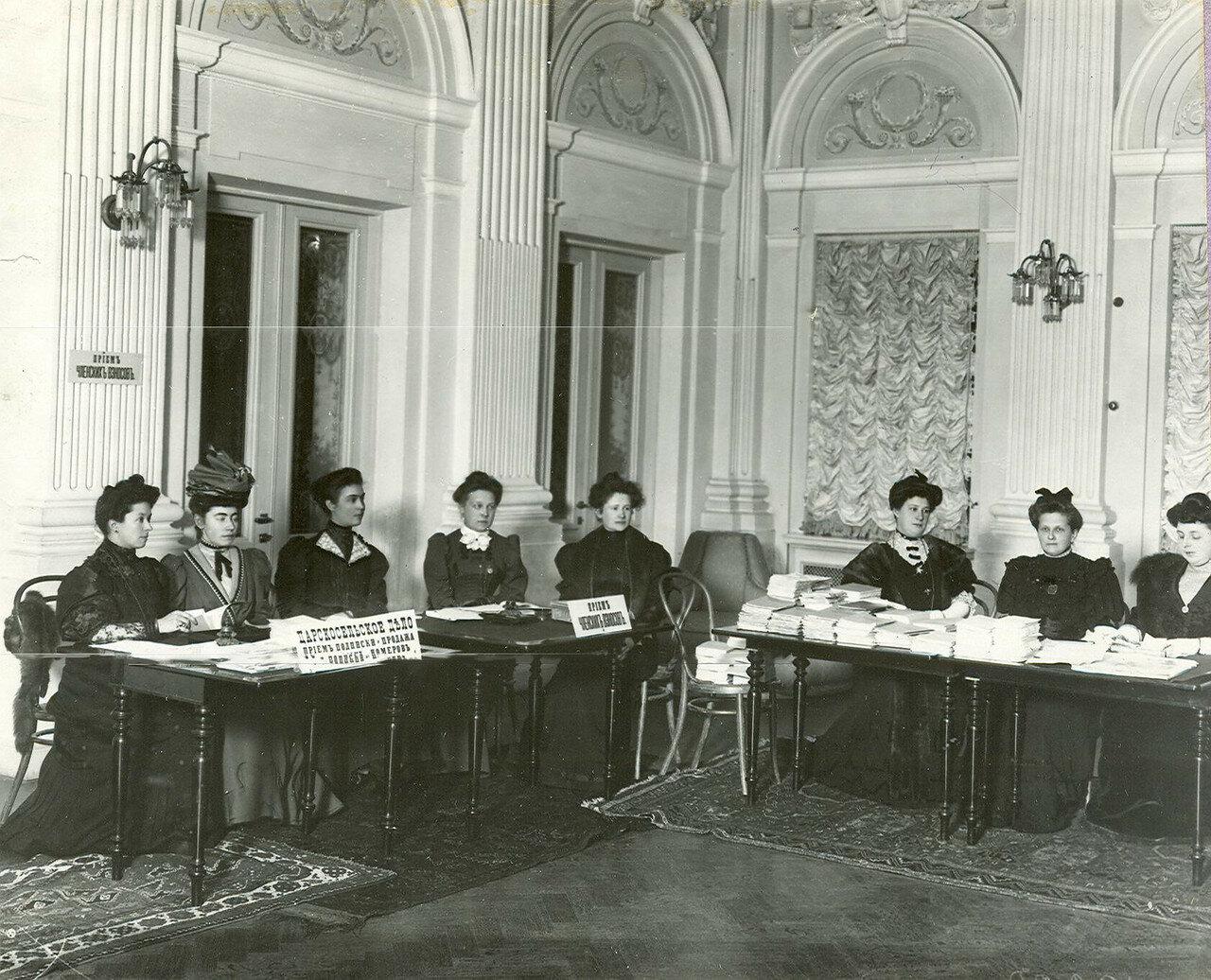 Вид части регистрационного отдела по выборам во Вторую Государственную думу