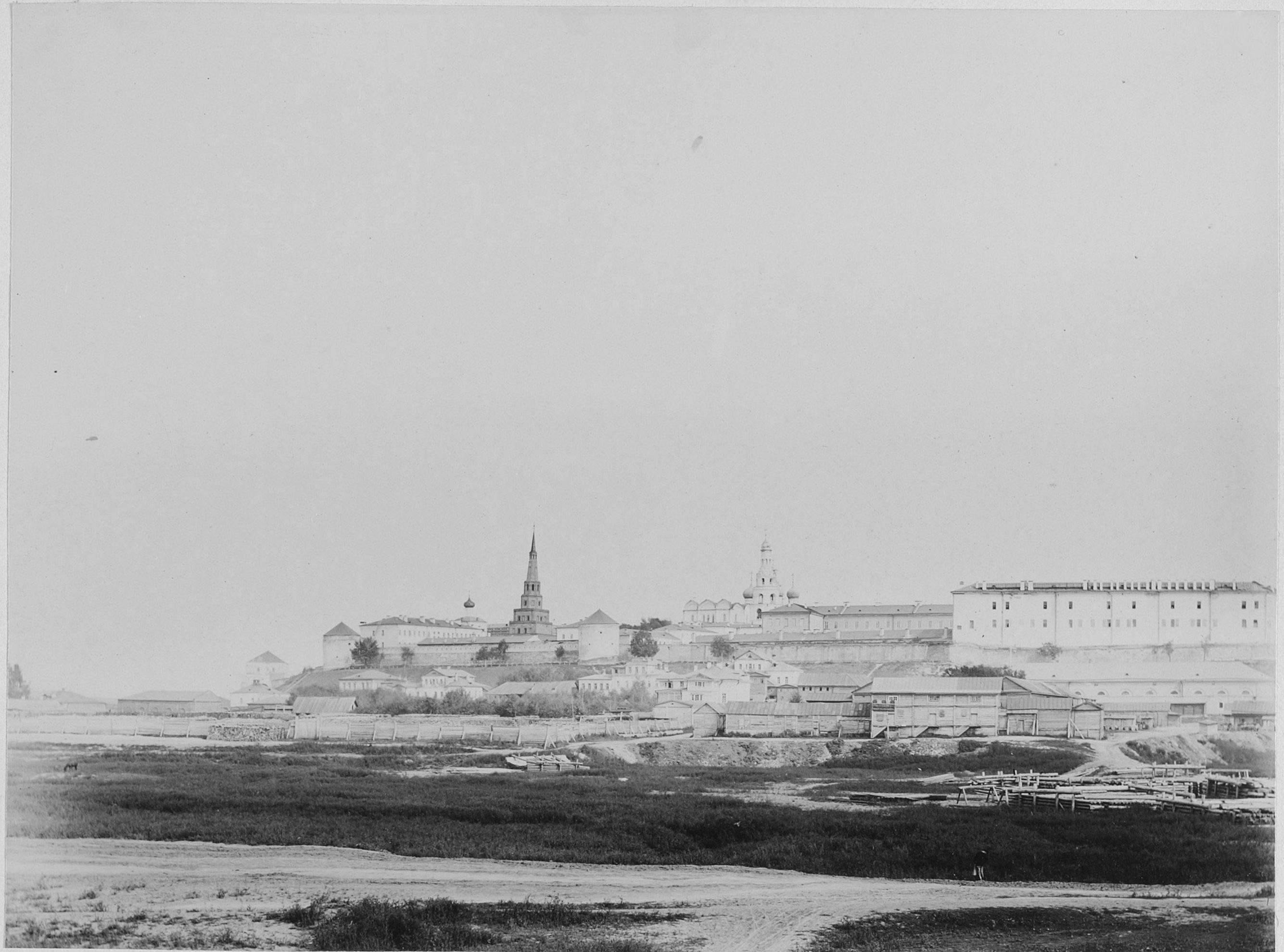 1890. Вид на Крепость со стороны Волги
