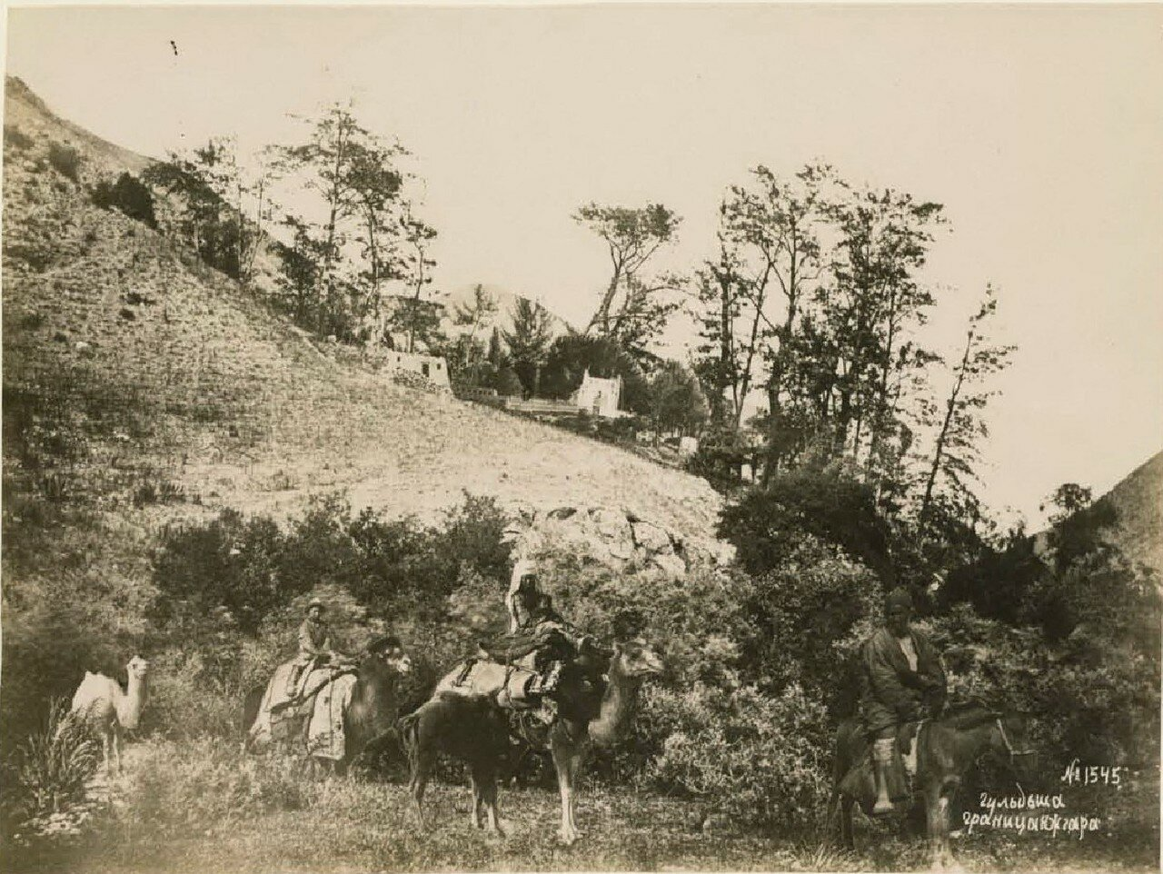 Гульдша. Граница Кагдара
