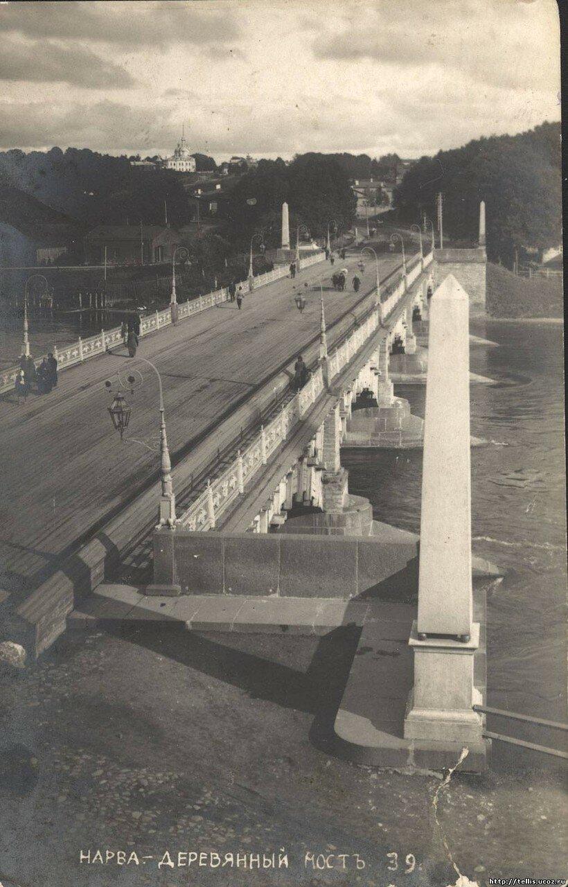 Старый мост. Вид на ивангородскую сторону