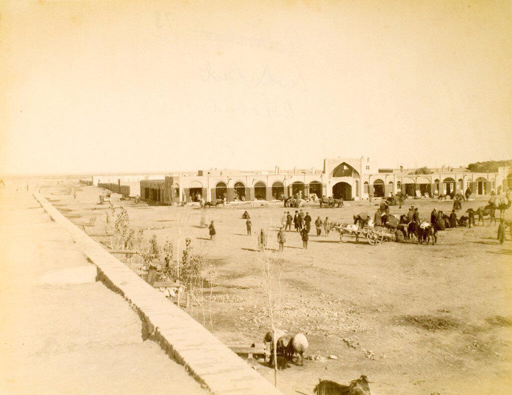 69. Ашхабад. Закаспийская область. Караван-сарай