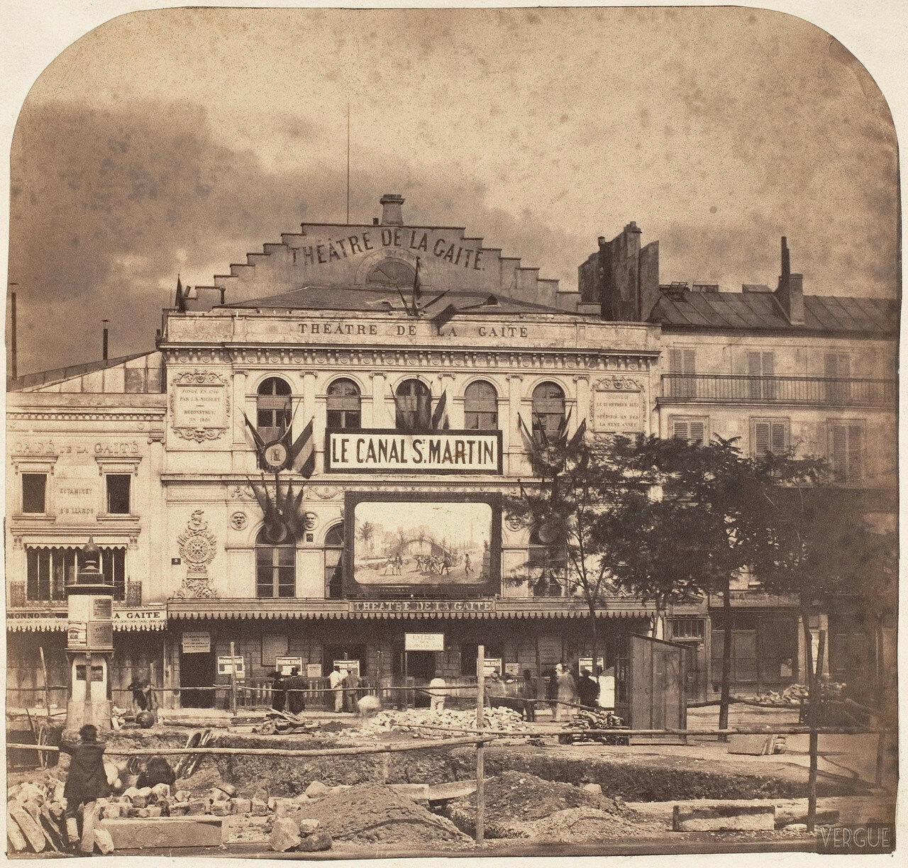 1862. Театр Гете на бульваре Тампль