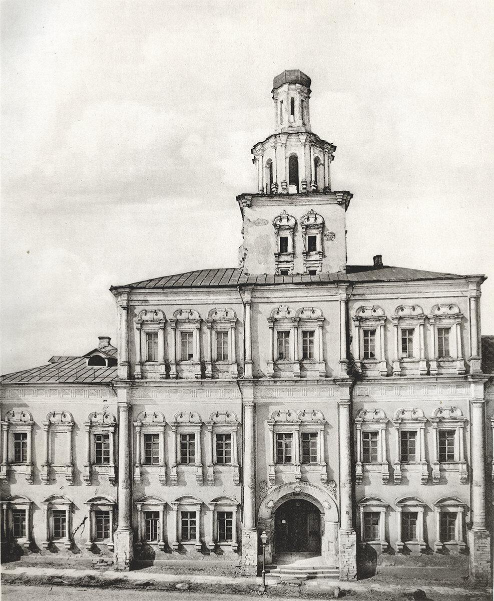 567. Древние палаты на Красной площади. 1874
