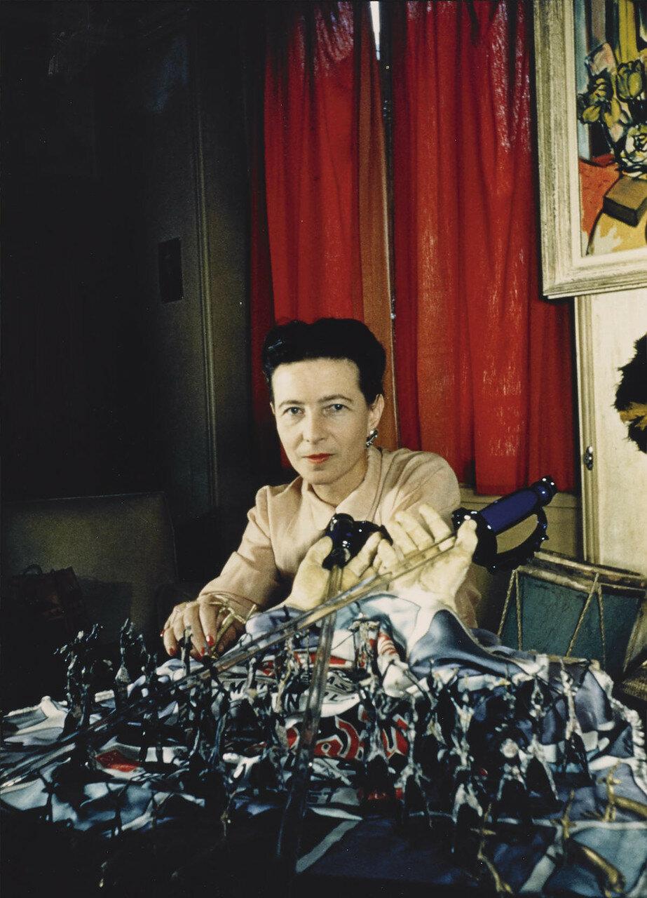 1948. Симона де Бовуар (писательница)