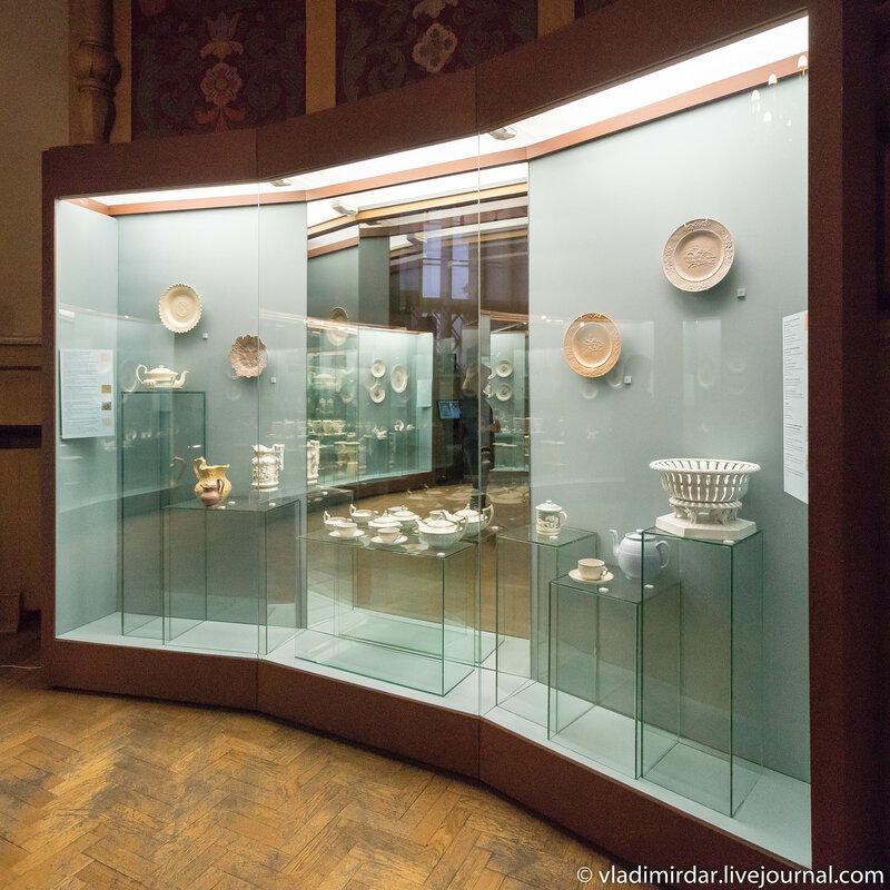 Экспонаты выставки Английский завтрак в России в Историческом музее