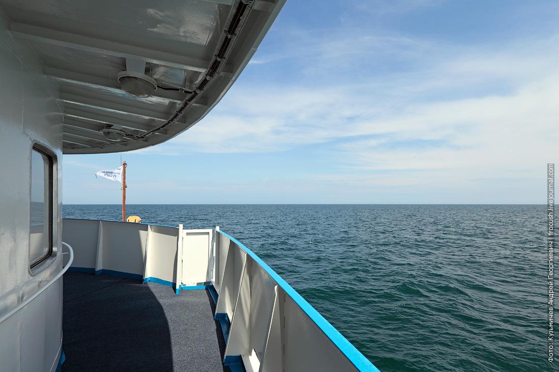 теплоход Русь Великая Каспийское море