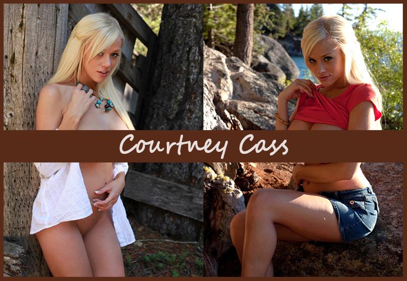 Американская модель Courtney Cass