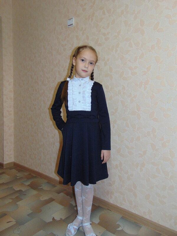 Сшить школьное платье