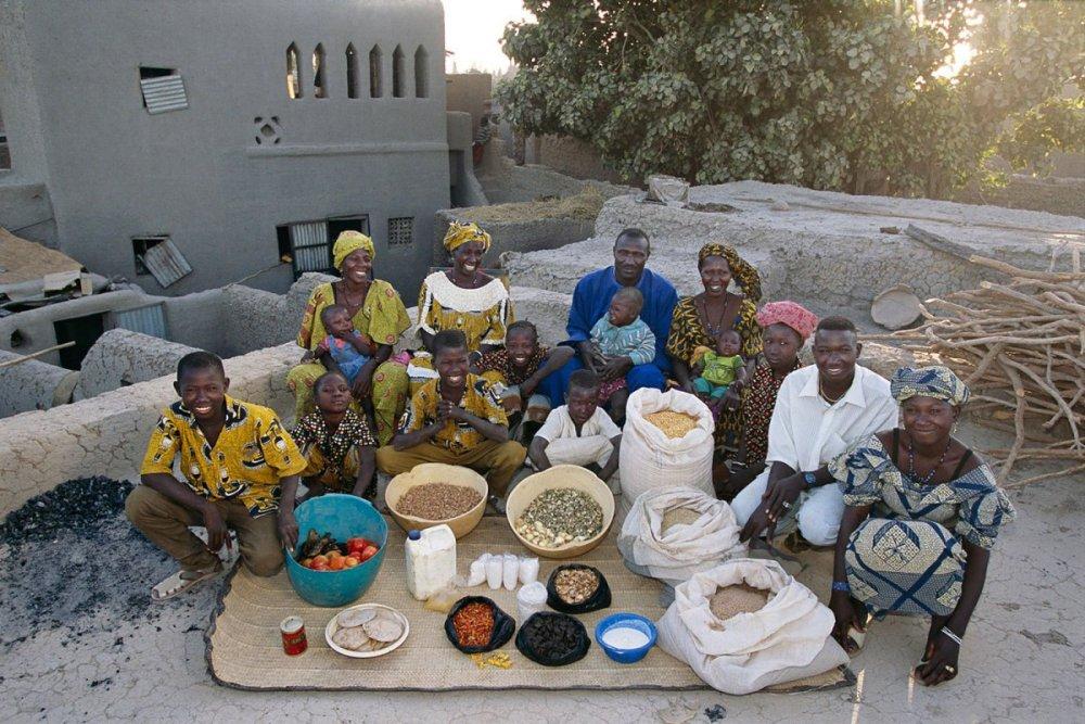 19 Малийская семья Африка