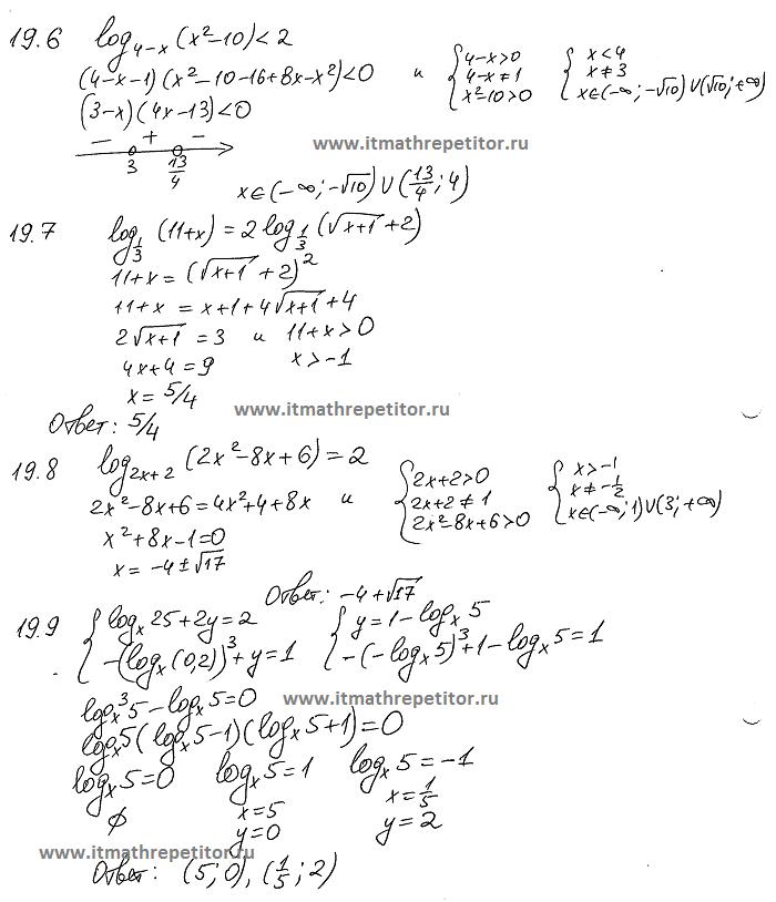 Ткачук логарифмы