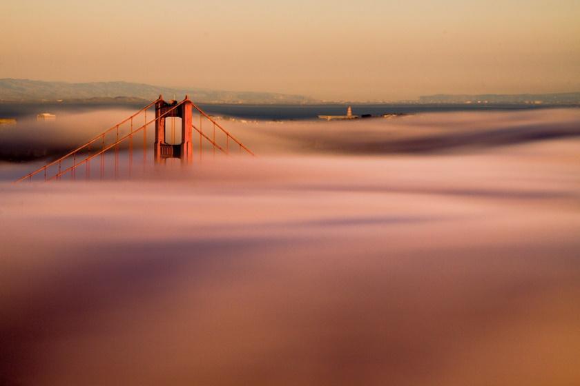 Красивые фотографии тумана в Сан Франциско, США 0 142278 716f32b7 orig