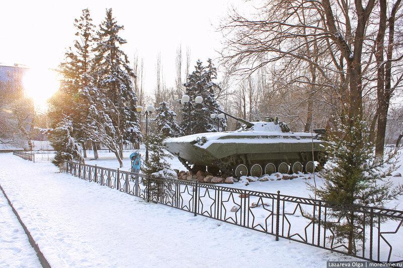 Волгоград зима фото