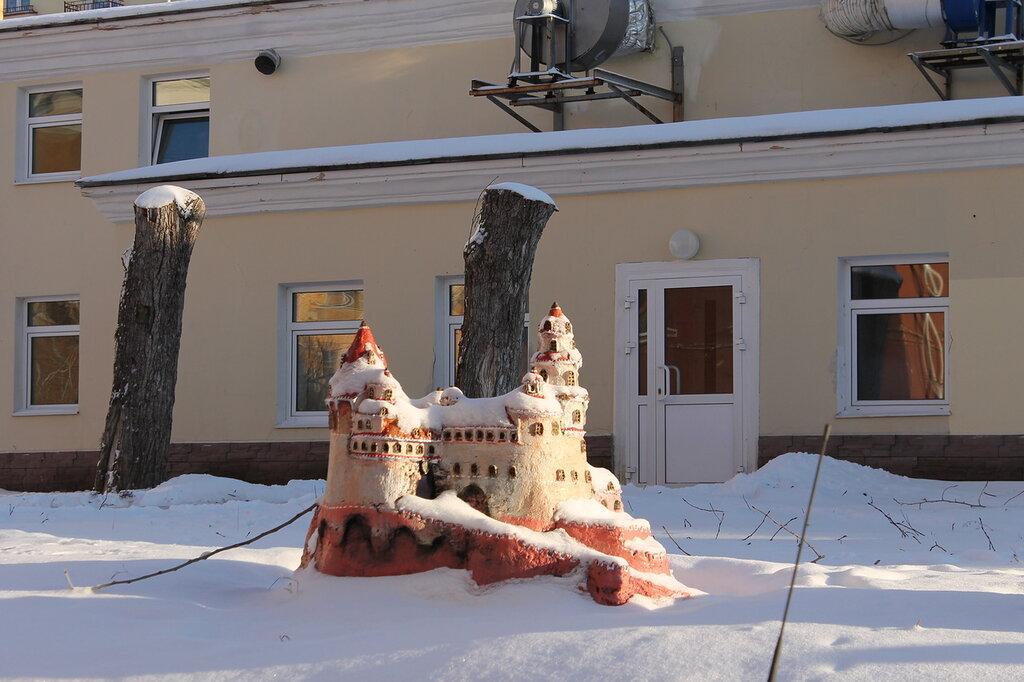 Бетонные скульптуры.