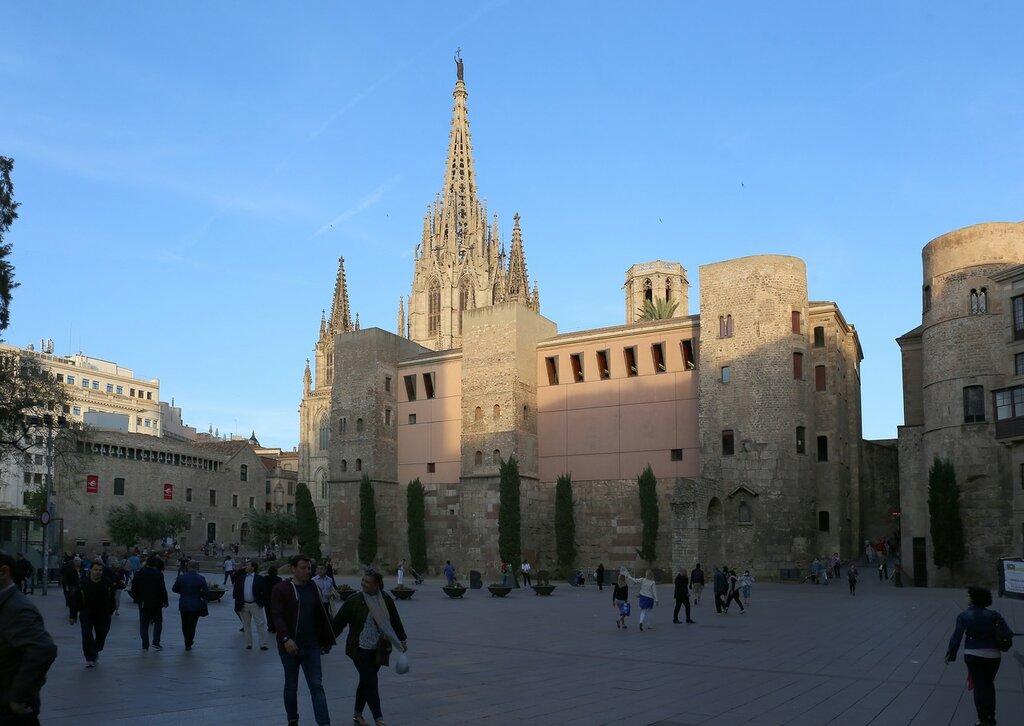 Barcelona. Plaza de seu