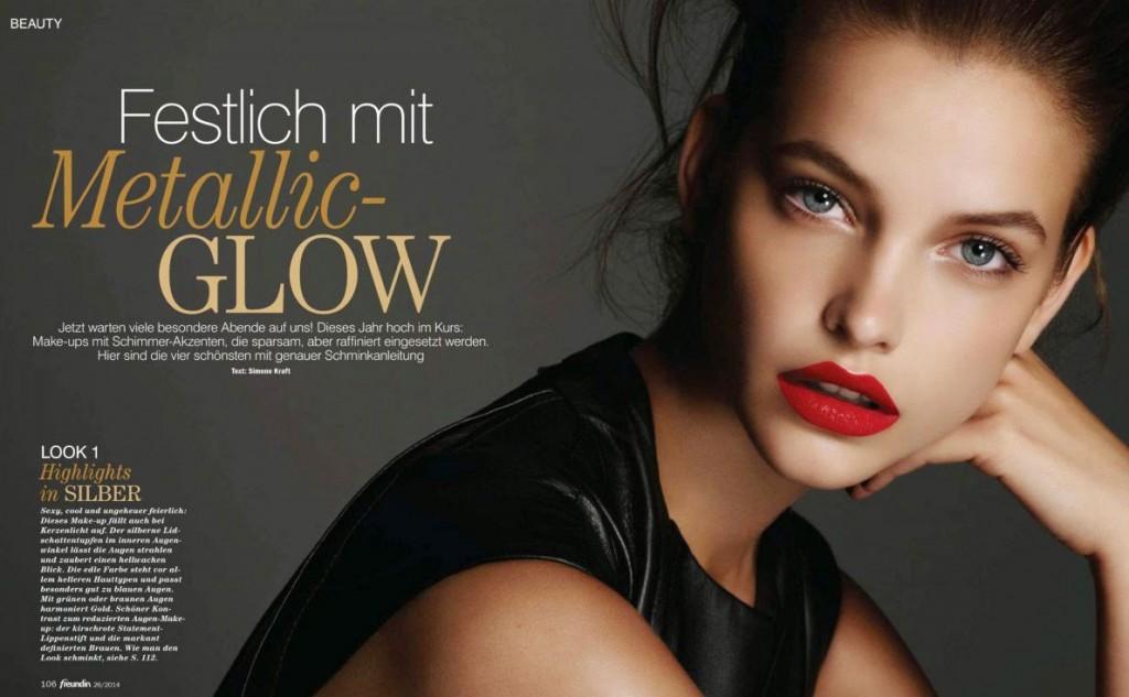 Барбара Палвин (Barbara Palvin) в журнале Freundin