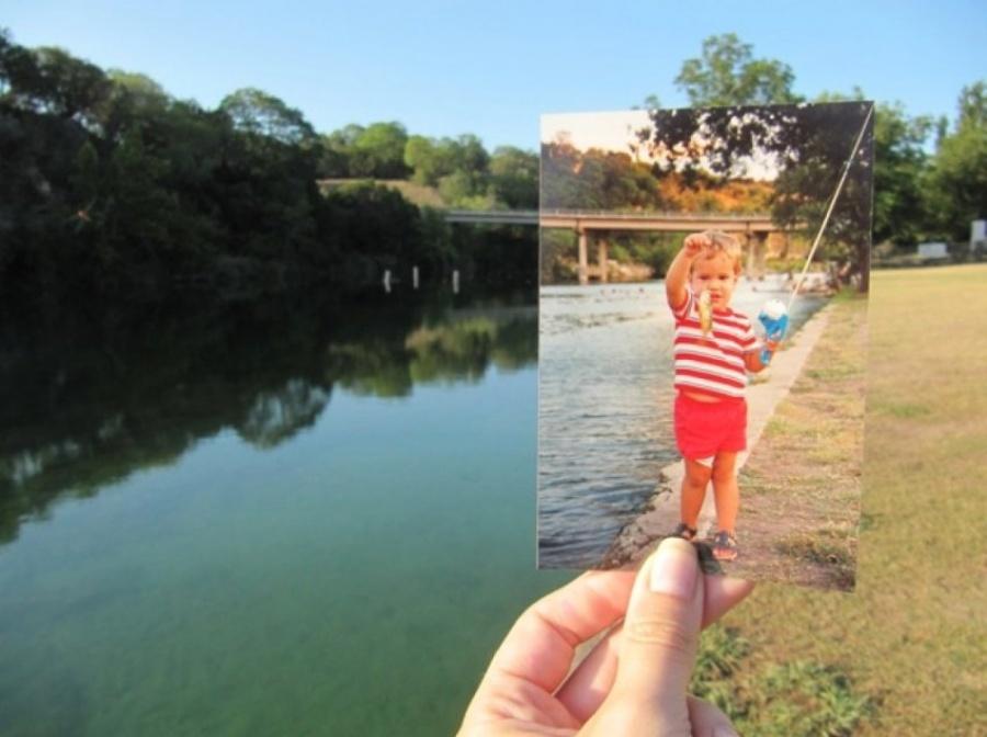 «Явсегда буду помнить мою первую рыбу». Брайан Турман.