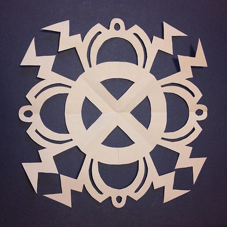 Шторм (Люди X) Создай на своей стене маленькую бумажную бурю .