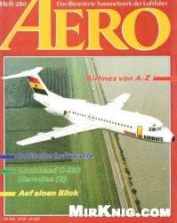 Журнал Aero: Das Illustrierte Sammelwerk der Luftfahrt №210