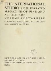 The International Studio 1911 №169-172