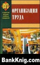Книга Экономика и организация труда djvu 1,16Мб